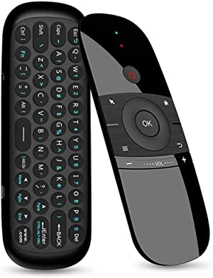 Wireless Remote Keyboard, Gimibox W1 Multifunctional Remote Control for Android TV Box/PC/Smart TV/Projector/HTPC/All-in-one PC/TV