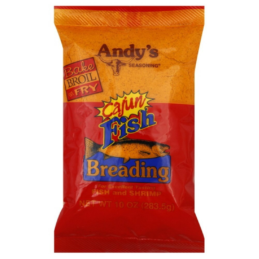 Andys Cajun Fish Breading (Pack of 3)