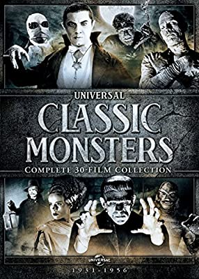 Classic Monsters Complete 30 Film Collection Amazoncomau