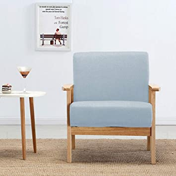 ChairSilla ordinaria Huiqi Lazy Sofa, Nordic Fabric Single ...