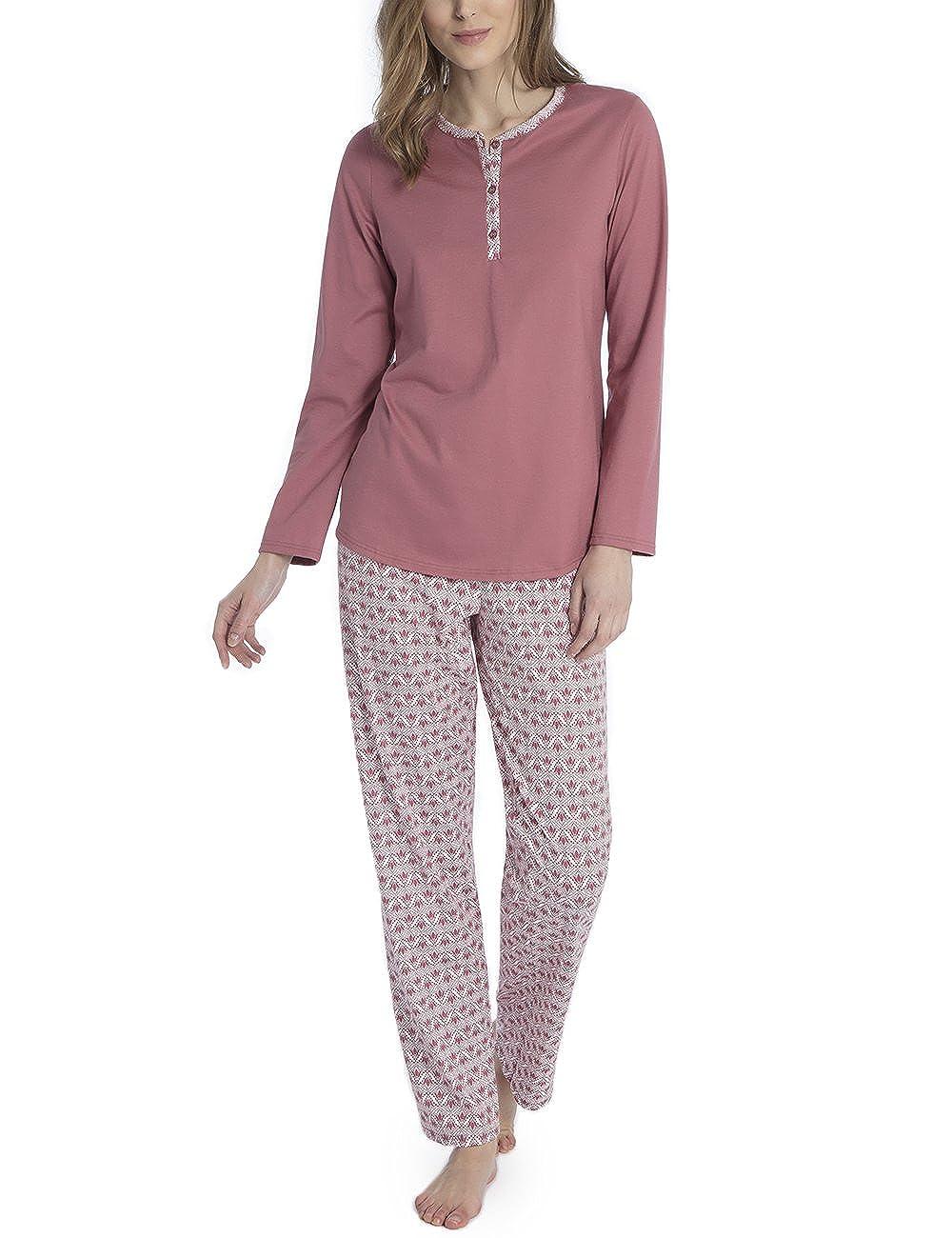 Calida Damen Zweiteiliger Schlafanzug Enya 45129