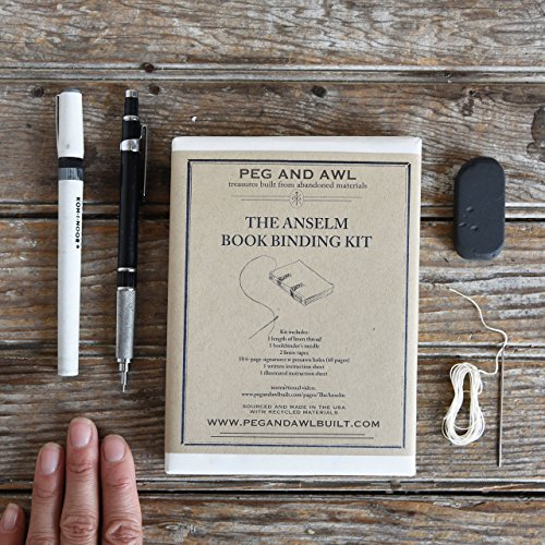 Amazon anselm bookbinding kit handmade anselm bookbinding kit solutioingenieria Choice Image