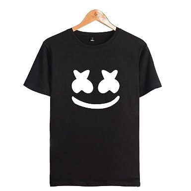 Kids Marshmello Dj Music T-shirt Game Gaming Edm Dance Festival Tee Boys Girls Boys' Clothing (2-16 Years) Kids' Clothes, Shoes & Accs.