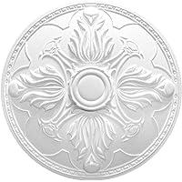 1 diámetro NMC placa embellecedora de techo decoración