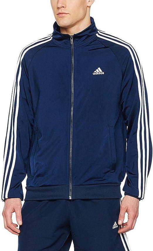 adidas Herren Essentials 3 Stripes Trefoil Jacke: ADIDAS