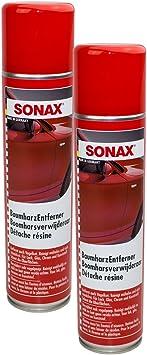 Sonax 2x 03903000 Baumharzentferner Reiniger 400ml Auto