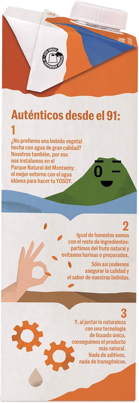 Yosoy - Bebida Vegetal de Avena - Caja de 6 x 1L: Amazon.es: Alimentación y bebidas