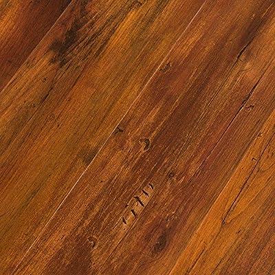 Featherweight Smoked Hickory 4mm Luxury Vinyl Flooring 1999 SAMPLE