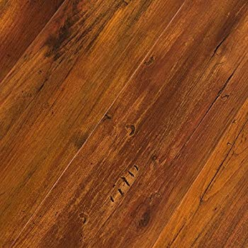 Featherweight Smoked Hickory 4mm Luxury Vinyl Flooring