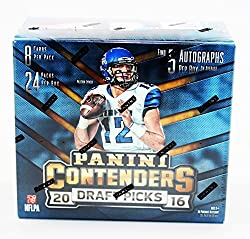 2016 Panini Contenders Draft Picks Football Hobby Box (24 Pk)
