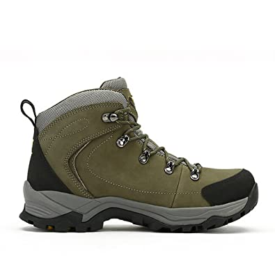Men's Outdoor Professional Hiking Shoes Color Army Green Size 40 M EU