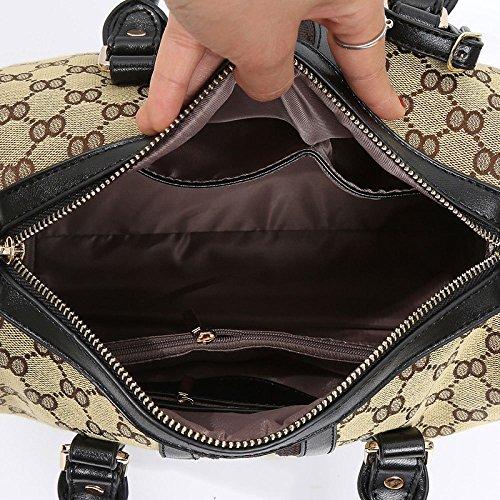 Khaki Khaki Bag Shoulder Women Bag Fashion Tote Messenger q0pwA