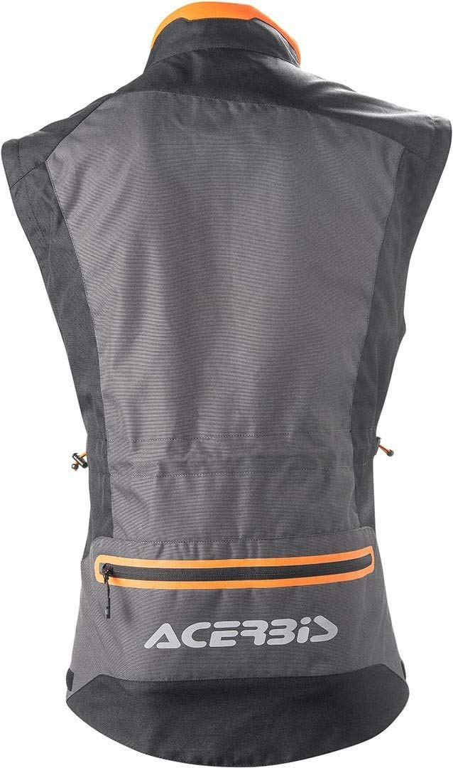 Chaqueta enduro-one Color Negro/Naranja XL