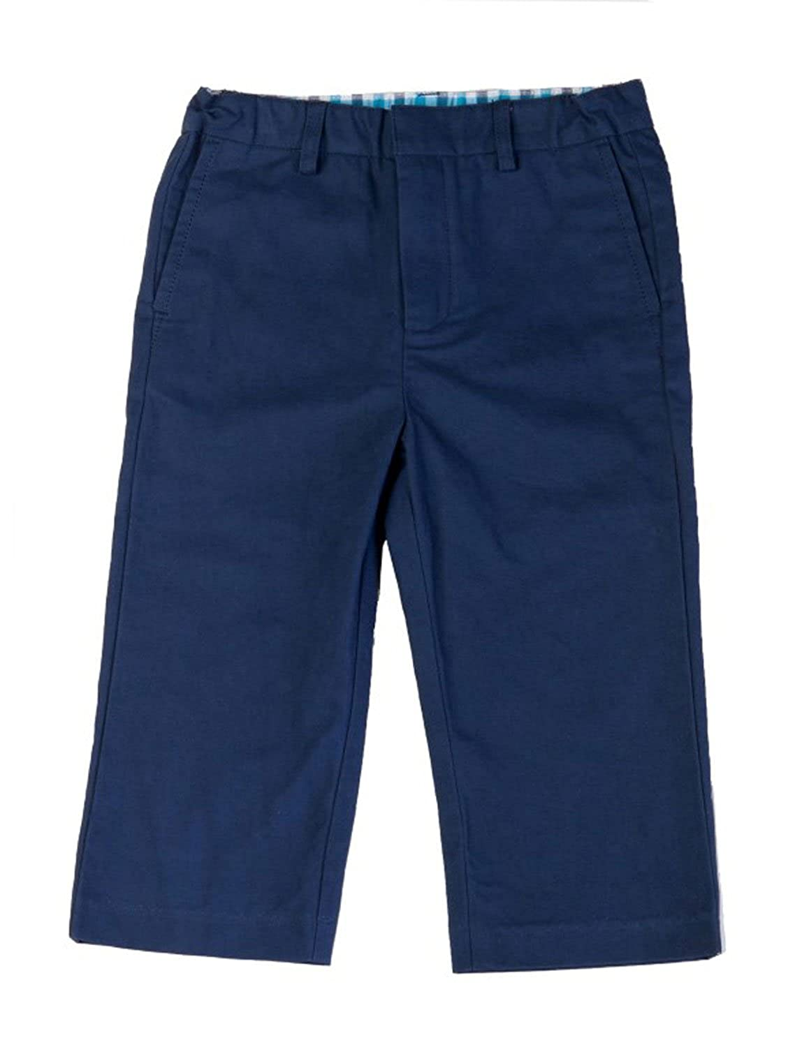Egg by Susan Lazar Boys Twill Trouser Pant Navy