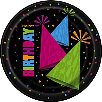 23cm Neon Party Plates Pack of 8  sc 1 st  Amazon UK & 23cm Neon Party Plates Pack of 8: Amazon.co.uk: Toys \u0026 Games