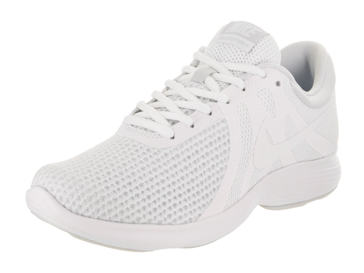 NIKE Women's Revolution 4 Wide Running Shoe B06XKJHQ8S 10.5 B(M) US|White/White-pure Platinum