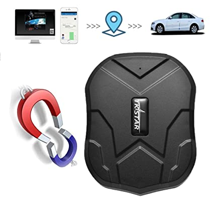 TKSTAR GPS Car Tracker, Waterproof Vehicles Tracking Device Long Battery 3  Months Online Moving Tracking Canada Locator for Cars Truck Boats Fleet