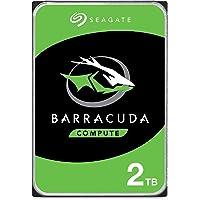 """Seagate Technology BarraCuda, 2 TB, Disco duro interno, HDD, 3,5"""", SATA 6 GB/s, 7200 RPM, caché de 64 MB para ordenador…"""