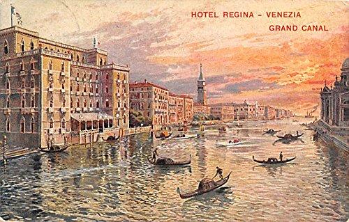 - Hotel Regina, Grand Canal Venezia Italy Postcard