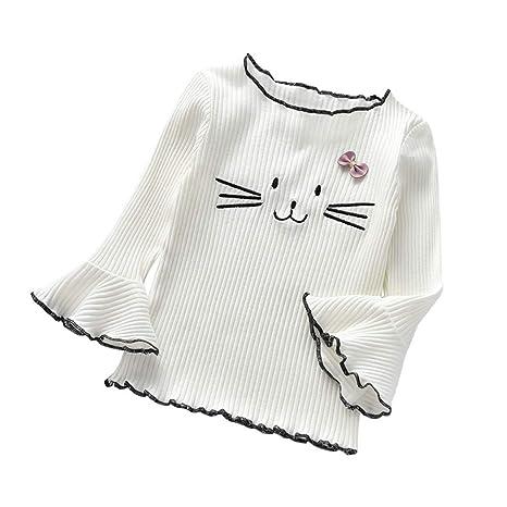 mamum invierno suéter niño gato de dibujo animado - Camiseta de ...
