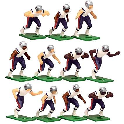 92c28432 Amazon.com: New England Patriots Away Jersey NFL Action Figure Set: Toys &  Games