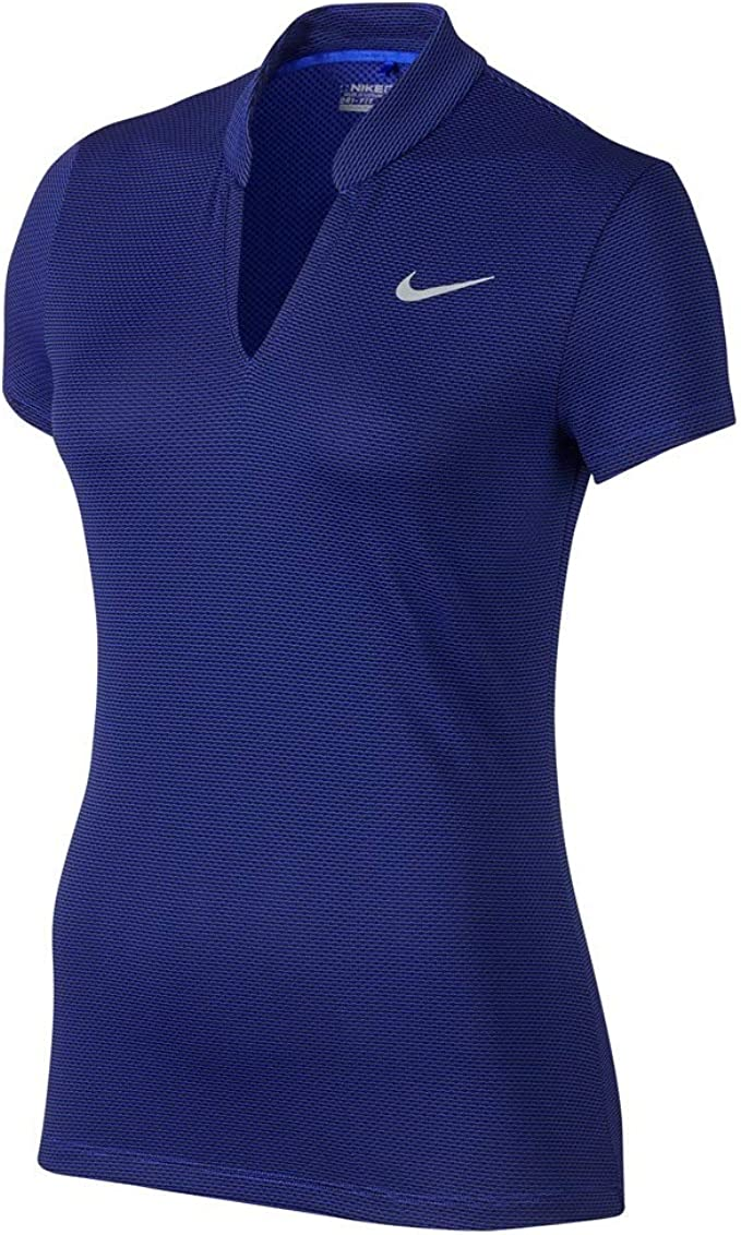 Desconocido Nike Aero React Camiseta Polo de Manga Corta de ...