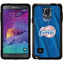 La Clippers - Jersey design on Black OtterBox Commuter Series Case for Samsung Galaxy Note 4