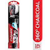 Colgate 360° Charcoal Battery Powered Toothbrush - 1 Pc