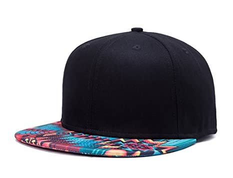 2def34b3819 Home Prefer Mens Snapback Hats Womens Flat Bill Hats Adjustable Cool Hats  Geo Hat