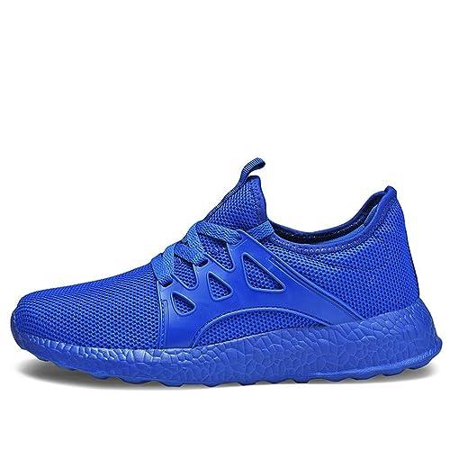 grand choix de 8a2c0 07de6 DOLDOA Baskets Mode Homme Chaussure de Sport de Mesh ...