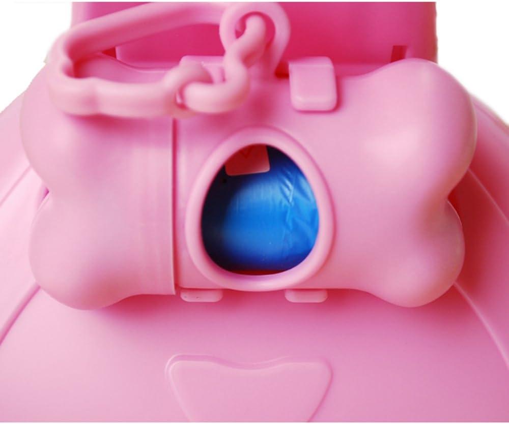 Pink RBL Dog Cat Portable Pooper Scooper With Garbage Bag Box Kit
