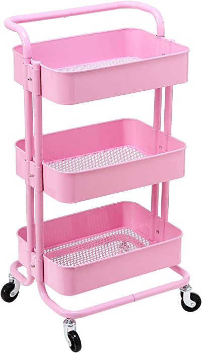 The Best Holly Home 3 Tier Cart