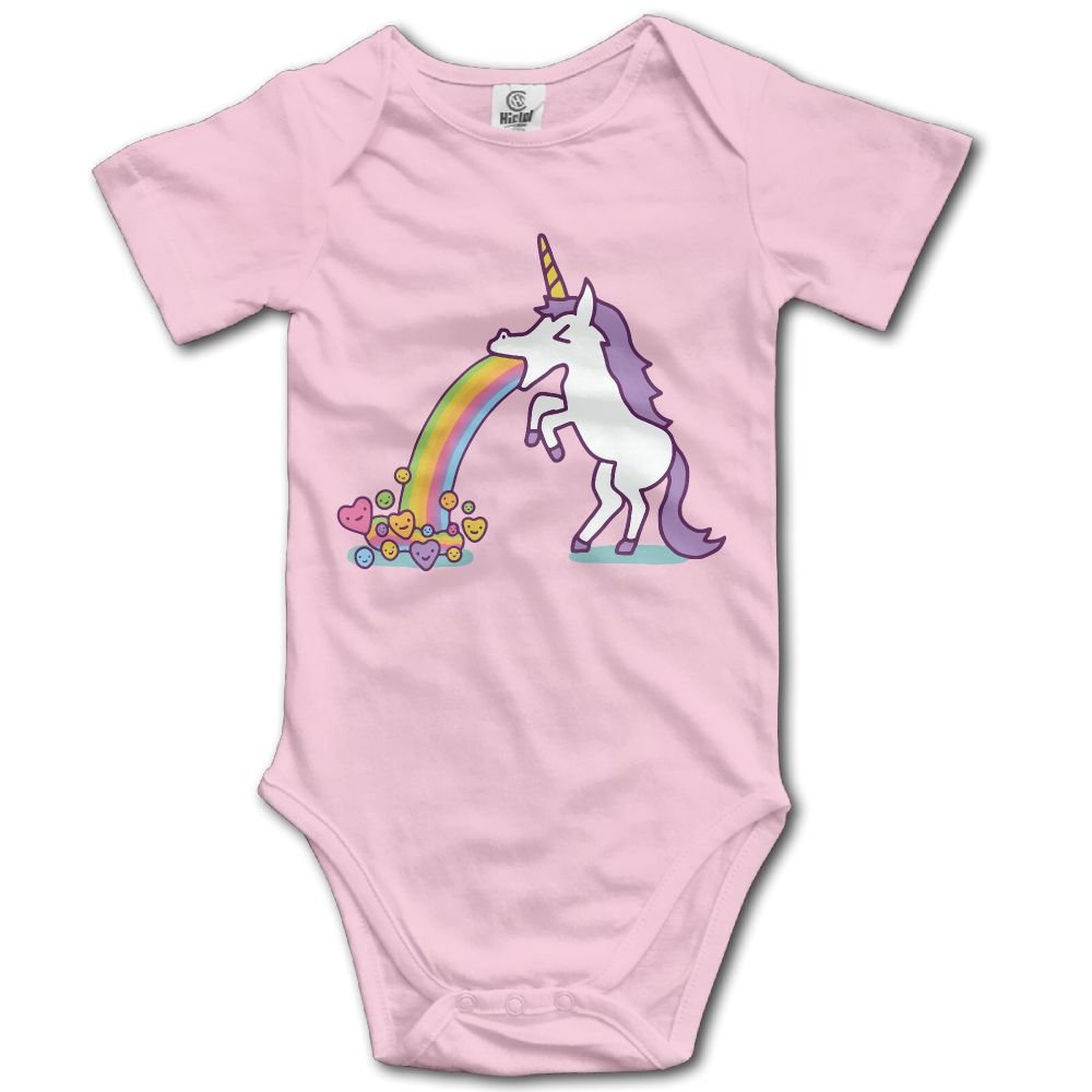 Jaylon Baby Climbing Clothes Romper Unicorn Infant Playsuit Bodysuit Creeper Onesies Pink