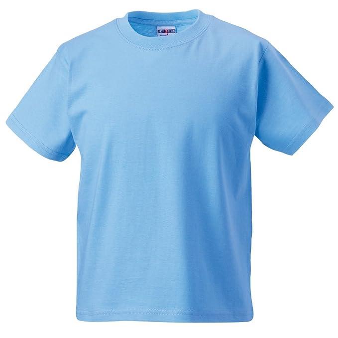 Jerzees Schoolgear Kids t-shirt Sky 78