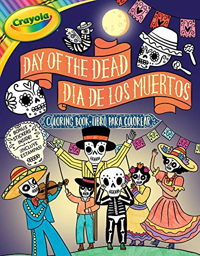 Crayola Day of the Dead/Día de los Muertos Coloring Book (7) (Crayola/BuzzPop)