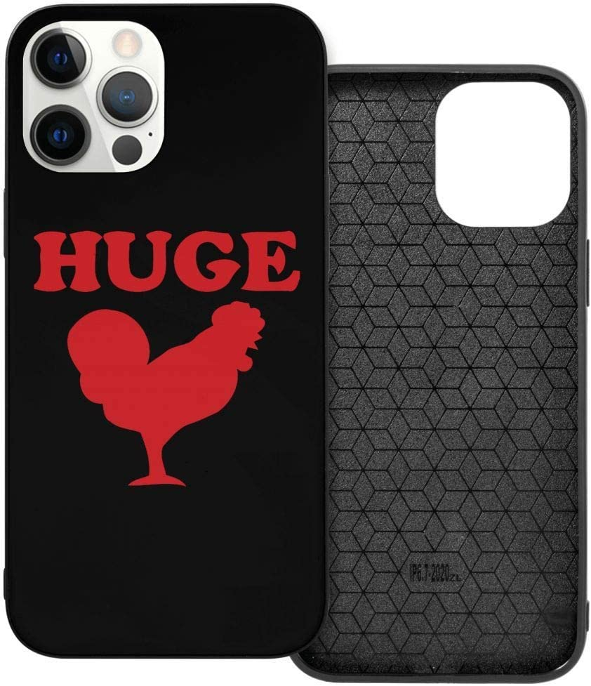 Huge Cock Funny Offensive Chicken I-Phone 12 Case Leather Purse Protector Rubber Case 3D Fashion Creative Cute Cover There are Four Models