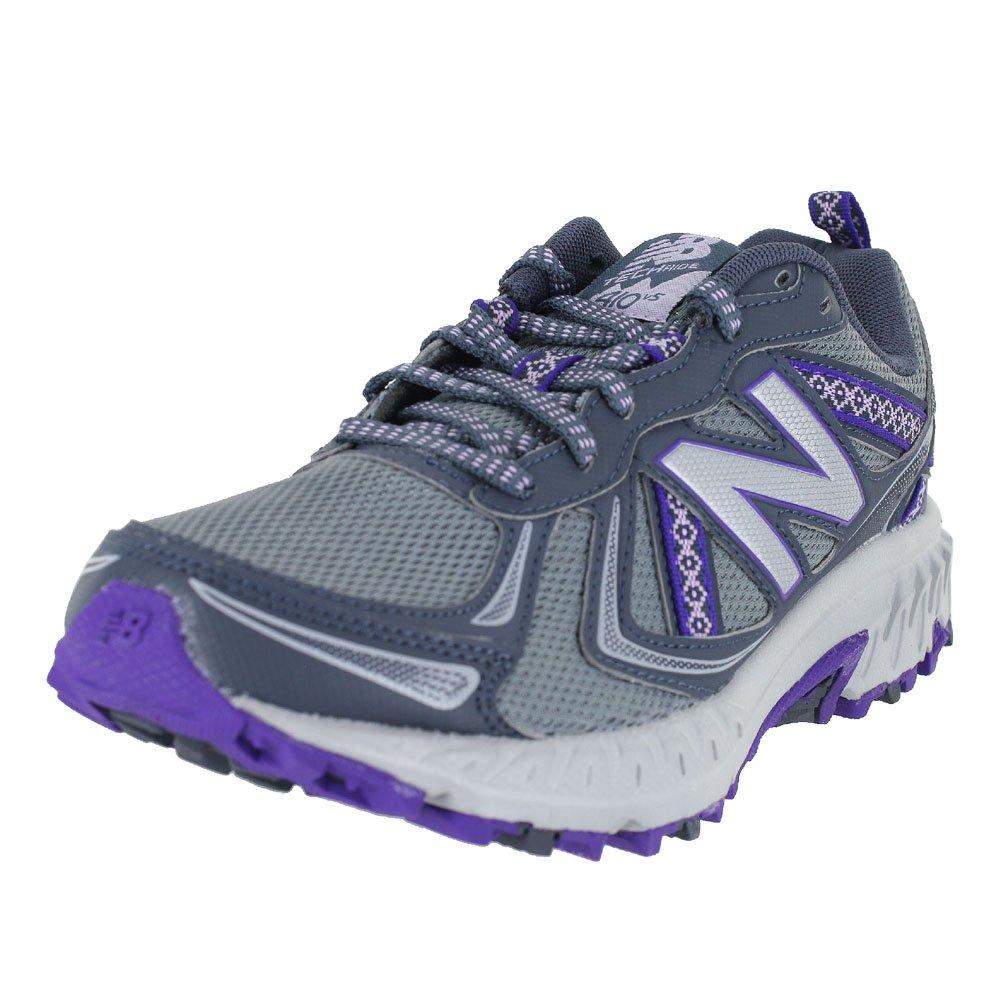 New Balance Women's WT410v5 Cushioning Trail Running Shoe B01N43MNH6 8.5 C/D US|Grey