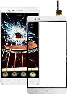 Lenovo Spare for Lenovo K5 Note Touch Panel(Gold) Lenovo Spare (Color : White)