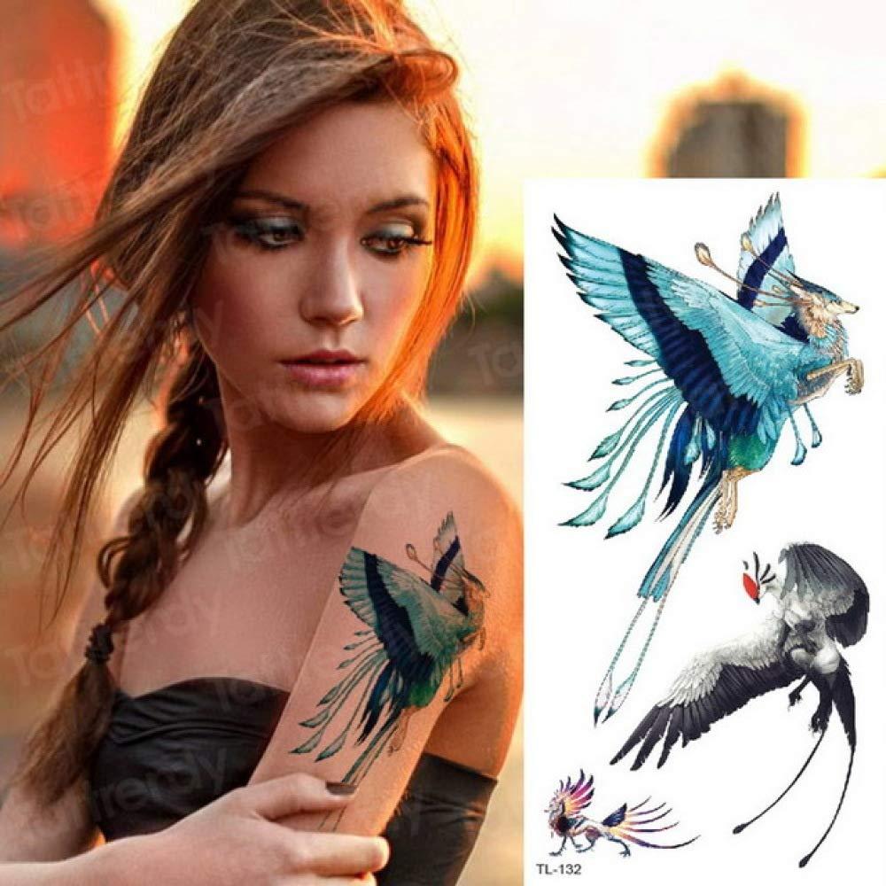 Chica tatuaje zorro mujeres tatuaje animales acuarela tatuaje moda ...