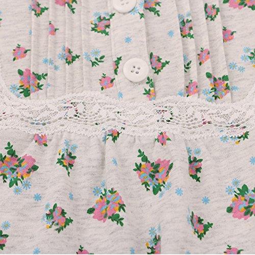 Caída de la ropa interior/Pijamas/Fresh pequeño dormir de algodón floral/Servicios a domicilio y ocio A
