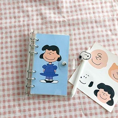 Amazon.com : LIJUCAI Notebook Hot Sale Simple Style Snoopy ...