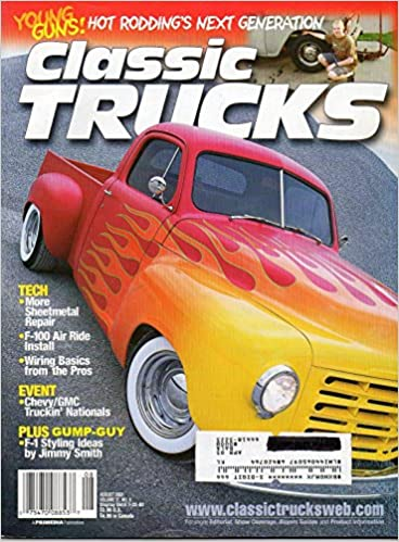classic trucks august 2002 magazine young guns: hot rodding's next  generation wiring basics from the pros single issue magazine – august 1,  2002