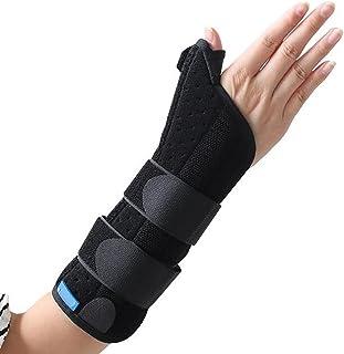 LL-Attelle de soutien du poignet avec poignet en métal et pouce Attelle - Idéal pour les blessures au pouce, les fractures du scaphoïde, le canal carpien et les entorses