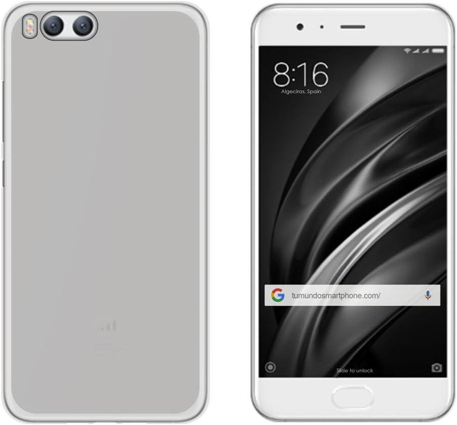 Tumundosmartphone Funda Gel TPU para XIAOMI MI6 Color Transparente ...