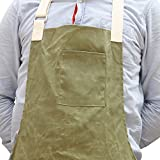 Waxed Canvas Workshop Apron Artist Smocks Garden