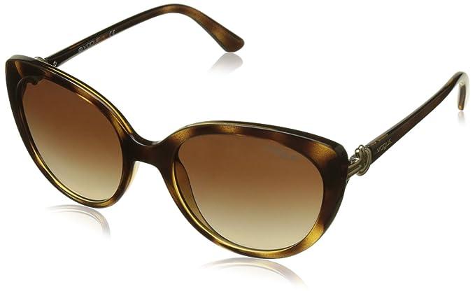 Vogue 0Vo5060S Gafas de sol, Havana, 53 para Mujer: Amazon ...