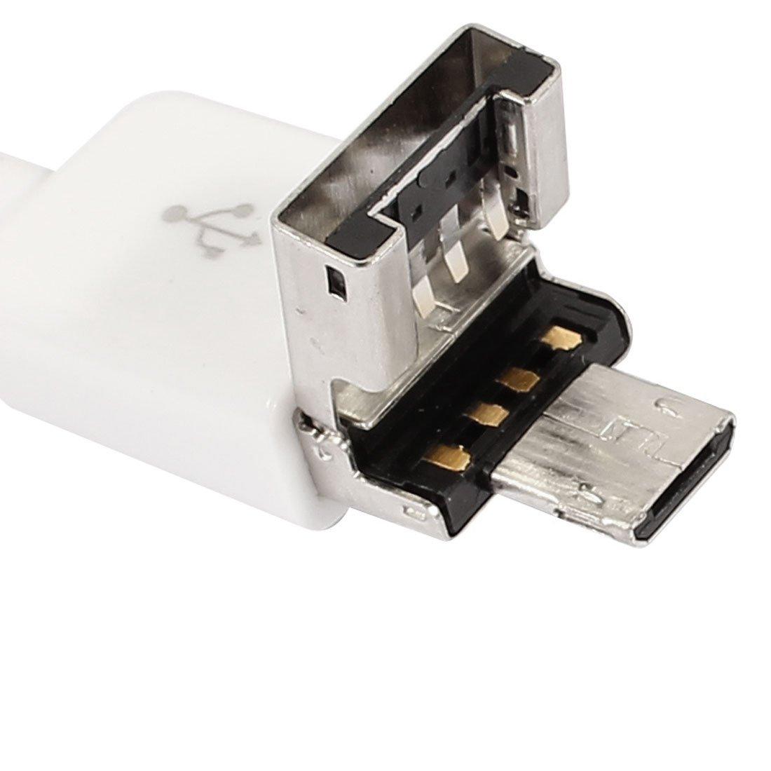 Android Endoscopio Inspección Cámara eDealMax 7mm 6LED impermeable micro USB 3.5 metros de la longitud blancos - - Amazon.com
