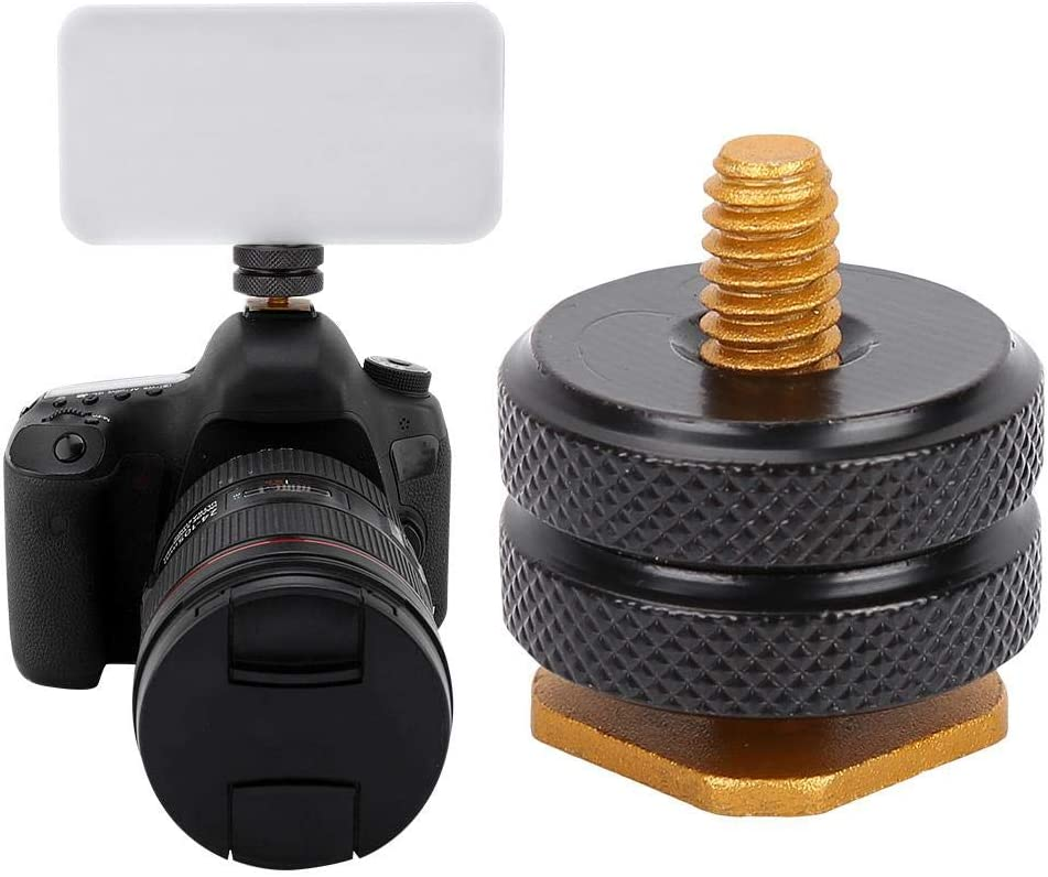 Flash VBESTLIFE Hot Shoe 1Pc 1//4 Tripod Screw to Flash Hot Shoe Adapter Holder Mount Accessory for Camera Hot Shoe Mount Screw Light Stand