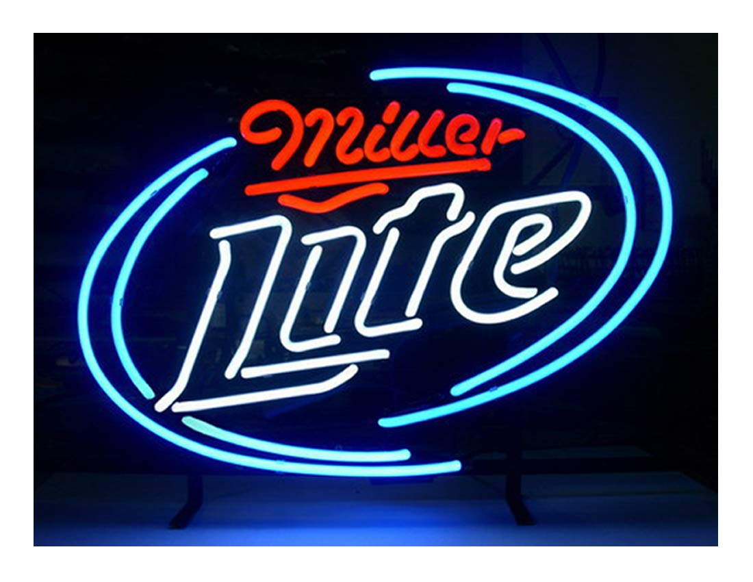 LDGJ Neon Light Sign Home Beer Bar Pub Recreation Room Game Lights Windows Glass Wall Signs Party Birthday Bedroom Bedside Table Decoration Gifts T673 Not LED