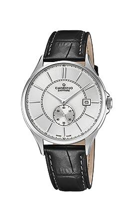 Candino Reloj Análogo clásico para Hombre de Cuarzo con Correa en Cuero C4634/1: Amazon.es: Relojes